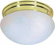 Nuvo SF76/675 - 2 Light Medium Mushroom Flush