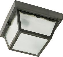 "Nuvo SF77/863 - 1 Light 8"" Poly Carport Flush"