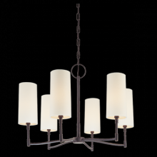 Hudson Valley 366-AGB - 6 Light Chandelier