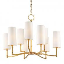 Hudson Valley 369-AGB - 9 Light Chandelier