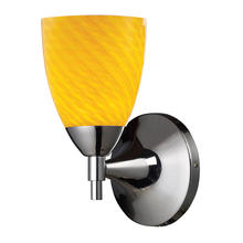 ELK Lighting 10150/1PC-CN - Celina 1 Light Sconce In Polished Chrome And Can