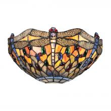 ELK Lighting 72077-1 - Dragonfly 1 Light Wall Sconce In Dark Bronze