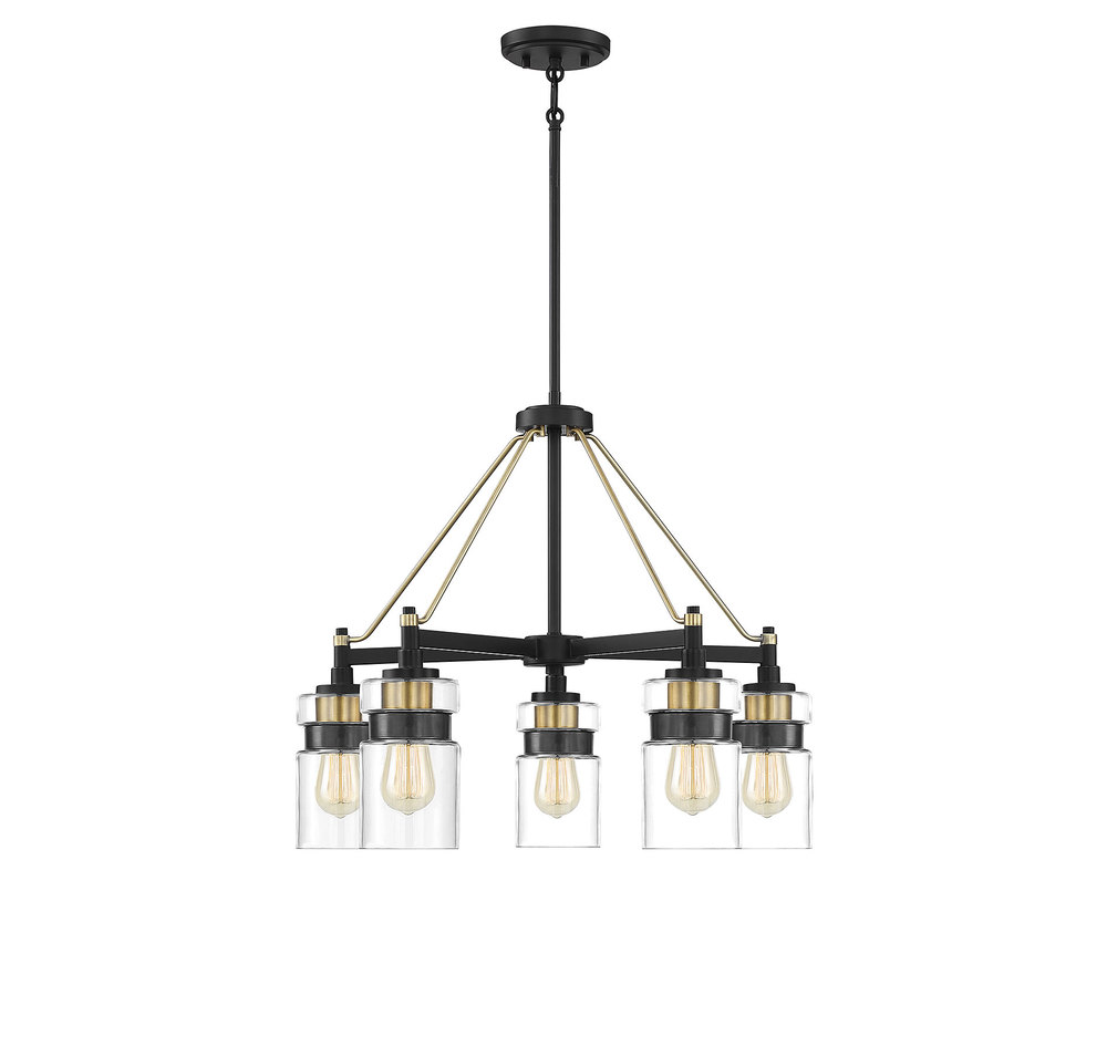 Colfax 5 Light Chandelier 1mvay Lighting Plus Inc