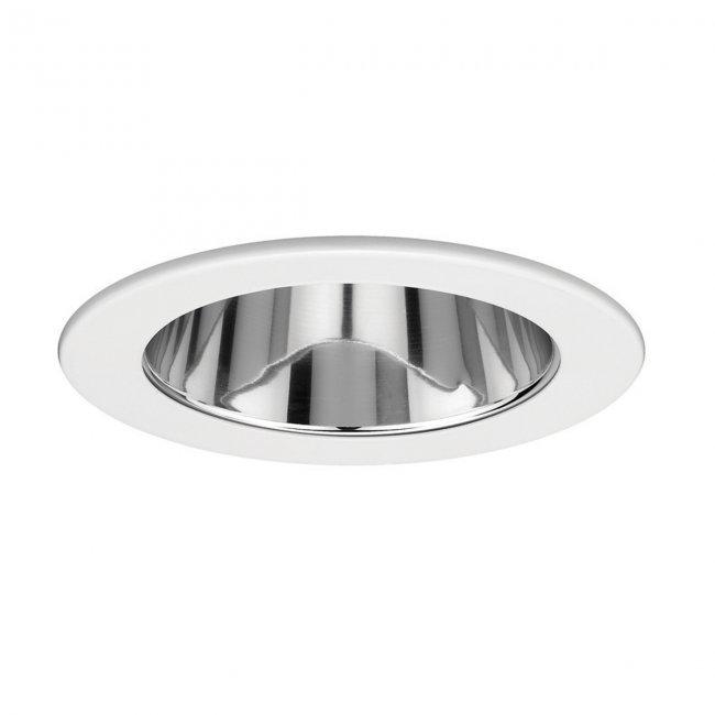 WAC Lighting HR-D416LED-BN 4in Square Adjustable Directional Trim LED Recessed Light 4 Low Voltage